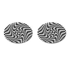 Whirl Cufflinks (oval)