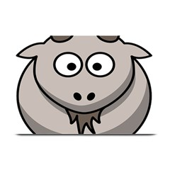 Goat Sheep Animals Baby Head Small Kid Girl Faces Face Plate Mats