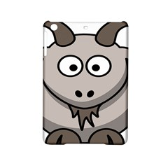 Goat Sheep Animals Baby Head Small Kid Girl Faces Face iPad Mini 2 Hardshell Cases