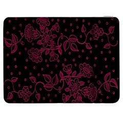 Floral Pattern Background Samsung Galaxy Tab 7  P1000 Flip Case