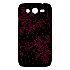 Floral Pattern Background Samsung Galaxy Mega 5.8 I9152 Hardshell Case