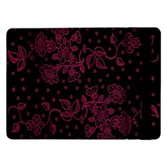 Floral Pattern Background Samsung Galaxy Tab Pro 12.2  Flip Case