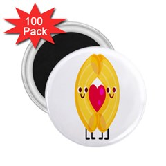 Say Pasta Love 2 25  Magnets (100 Pack)