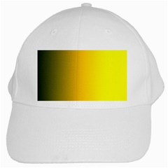 Yellow Gradient Background White Cap