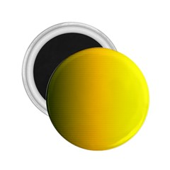 Yellow Gradient Background 2.25  Magnets