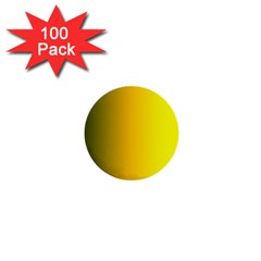 Yellow Gradient Background 1  Mini Buttons (100 Pack)