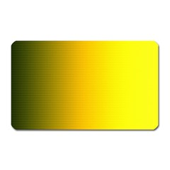 Yellow Gradient Background Magnet (rectangular)