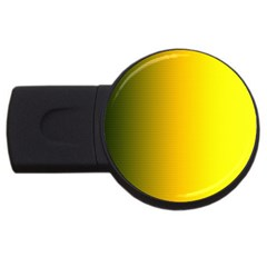 Yellow Gradient Background USB Flash Drive Round (1 GB)