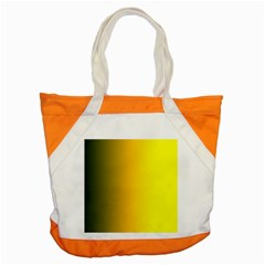 Yellow Gradient Background Accent Tote Bag