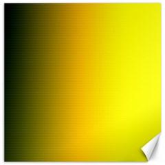 Yellow Gradient Background Canvas 12  X 12