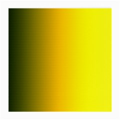 Yellow Gradient Background Medium Glasses Cloth (2 Side)