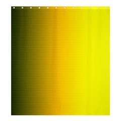 Yellow Gradient Background Shower Curtain 66  X 72  (large)