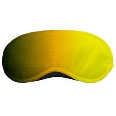Yellow Gradient Background Sleeping Masks