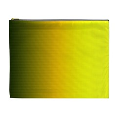 Yellow Gradient Background Cosmetic Bag (xl)