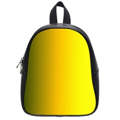 Yellow Gradient Background School Bags (Small)