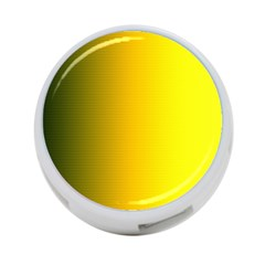 Yellow Gradient Background 4 Port Usb Hub (two Sides)
