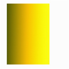 Yellow Gradient Background Large Garden Flag (Two Sides)