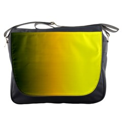 Yellow Gradient Background Messenger Bags