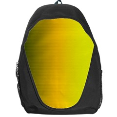 Yellow Gradient Background Backpack Bag