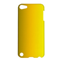 Yellow Gradient Background Apple Ipod Touch 5 Hardshell Case