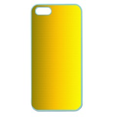 Yellow Gradient Background Apple Seamless iPhone 5 Case (Color)