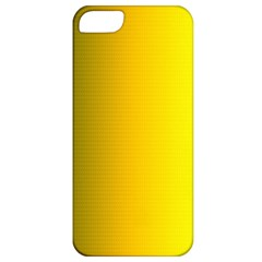 Yellow Gradient Background Apple iPhone 5 Classic Hardshell Case