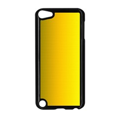 Yellow Gradient Background Apple iPod Touch 5 Case (Black)