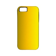 Yellow Gradient Background Apple iPhone 5 Classic Hardshell Case (PC+Silicone)