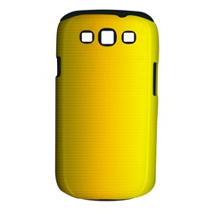 Yellow Gradient Background Samsung Galaxy S III Classic Hardshell Case (PC+Silicone)