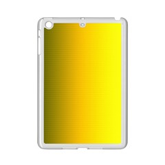 Yellow Gradient Background iPad Mini 2 Enamel Coated Cases