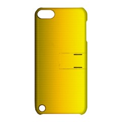 Yellow Gradient Background Apple iPod Touch 5 Hardshell Case with Stand