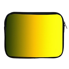 Yellow Gradient Background Apple iPad 2/3/4 Zipper Cases