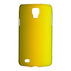 Yellow Gradient Background Galaxy S4 Active