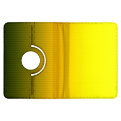 Yellow Gradient Background Kindle Fire HDX Flip 360 Case