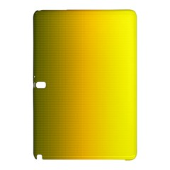 Yellow Gradient Background Samsung Galaxy Tab Pro 12.2 Hardshell Case