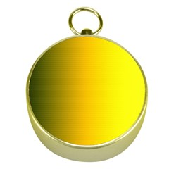 Yellow Gradient Background Gold Compasses