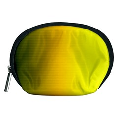 Yellow Gradient Background Accessory Pouches (Medium)