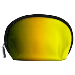 Yellow Gradient Background Accessory Pouches (Large)
