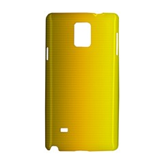 Yellow Gradient Background Samsung Galaxy Note 4 Hardshell Case
