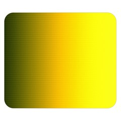 Yellow Gradient Background Double Sided Flano Blanket (Small)