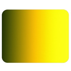 Yellow Gradient Background Double Sided Flano Blanket (Medium)