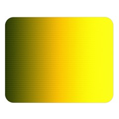 Yellow Gradient Background Double Sided Flano Blanket (Large)