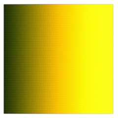 Yellow Gradient Background Large Satin Scarf (Square)
