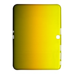Yellow Gradient Background Samsung Galaxy Tab 4 (10 1 ) Hardshell Case