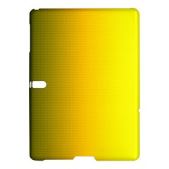 Yellow Gradient Background Samsung Galaxy Tab S (10 5 ) Hardshell Case