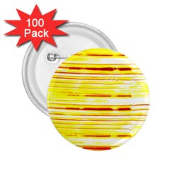 Yellow Curves Background 2.25  Buttons (100 pack)