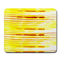 Yellow Curves Background Large Mousepads