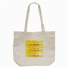 Yellow Curves Background Tote Bag (Cream)