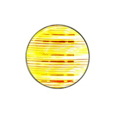 Yellow Curves Background Hat Clip Ball Marker (10 pack)