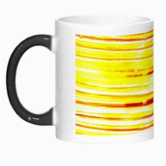 Yellow Curves Background Morph Mugs